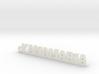 YANAMARIA_keychain_Lucky 3d printed