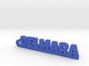 DELMARA_keychain_Lucky 3d printed