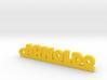 ARNOLDO_keychain_Lucky 3d printed