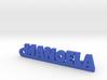 MANOELA_keychain_Lucky 3d printed