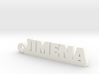JIMENA_keychain_Lucky 3d printed