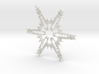 James snowflake ornament 3d printed