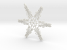 William snowflake ornament 3d printed
