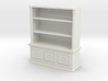 Bookshelf, Square - 1:48 3d printed