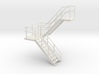O Scale Stairs 76mm 3d printed