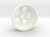 "1:8 Rear ""Bear Paw"" American Wheel 3d printed"