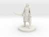 Half Elf Male Ranger with Moonblade 3d printed