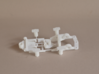 Med Narrow inline Chassis (Longcan ff180, S-Can ) 3d printed