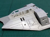 Snow speeder, Closed Canopy and Flaps, 1:144 3d printed Superdetail your kit! Speeder not included. Frosted Extreme Detail shown.