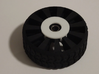 2 Inch Airless Tire for Use with 1/2 Inch Bearing 3d printed SHOWN WITH BEARING AND PRINTABLE 1/2 INCH BEARING CAPTURE BRACKET