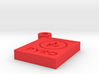 Pyro Badge 3d printed