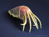 Cuttlefish Statue 3d printed Hand Painted White Strong & Flexible Polished