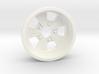 1:8 Rear Radir Style Five Spoke Wheel 3d printed