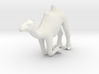 PrCrintle Thing Camel Kneeling - 1/72 3d printed