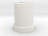 White Slider Knob / Cap for VCO-1 on Roland SH-7 3d printed Slider Knob  for Roland SH 7 VCO 1
