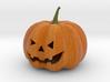 Sandstone Color Halloween Pumpkin 3d printed