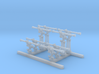 1/350 Royal Navy Barr and Stroud 12ft Rangefinders 3d printed 1/350 Royal Navy Barr and Stroud 12ft Rangefinders