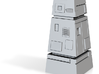 Scavenge Parts Tower 3d printed