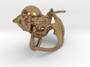LUX DRACONIS right earring  3d printed