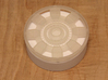 Iron Man Mark IV Arc Reactor (1 of 2 parts) 3d printed Actual 3D print.  Pictured with the light diffuser box