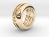 Embrace ::: Circle Pendant ::: v.01 3d printed