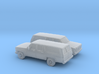 1/160 2X 1973-79 Chevrolet Suburban Split Rear Doo 3d printed