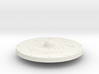 Miniature Burning Shield of Outland Ravager - Dota 3d printed