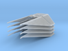 1/144 TIE Interceptor Wing Set of 4 3d printed