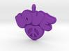 37 - LOVE HEART-PRETZEL 3d printed