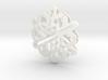 Snowflake No 2 3d printed