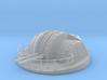 "1/96 IJN 12.7 cm/40 (5"") twin mounts enclosed 3d printed"