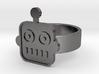 Robot Ring 3d printed