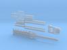 Schienentieflader ähnlich Goldhofer 6achs Kuebler 3d printed