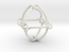 Octahedral knot (Rope) 3d printed