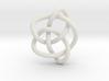 Knot 8₁₆ (Circle) 3d printed