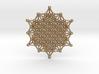 64 Tetrahedron Grid - Merkaba Matrix 3d printed