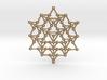 64 Tetrahedron Grid 3d printed