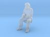 Santa Claus Sitting 3d printed