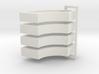 Parkhecke doppelt gerundet breit (Buchsbaum) 4er S 3d printed