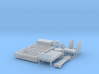 1/56th scale furnitures (15 pieces) 3d printed
