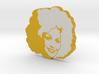 Dolly Parton in Orange 3d printed