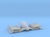 1/43 Indy Car Front_Wing for Diorama 3d printed