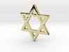 Jewish Star (Hexagram) 3d printed
