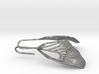 Butterfly Wing Drop Earrings 3d printed