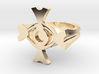Ceridenkreuz ring 3d printed