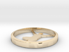 Yoga jewelry pendant 3d printed