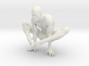 Male yoga pose 002 3d printed