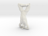 Male yoga pose 014 3d printed
