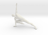 Male yoga pose 015 3d printed