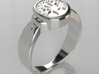 Celtic Tree of Life Ring - Size 7-3:4 3d printed Silver